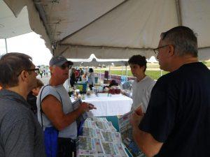 Stand du Courrier de Floride à la QuébecFest 2016