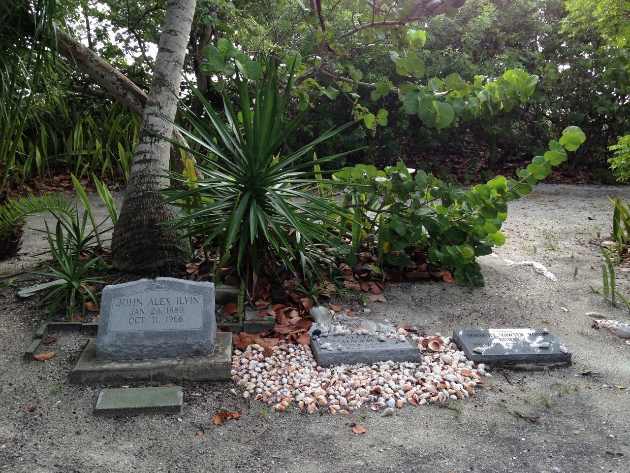 Cimetière de Captiva Island - Floride