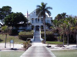 L'hôtel Collier Inn sur la plage d'Useppa Island