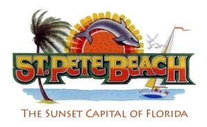 logo de St Pete Beach en Floride