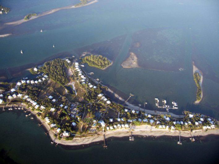 Île de Useppa Island en Floride
