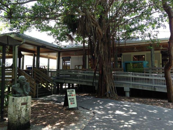 Palm Beach : John D. MacArthur Beach State Park, plage, nature center