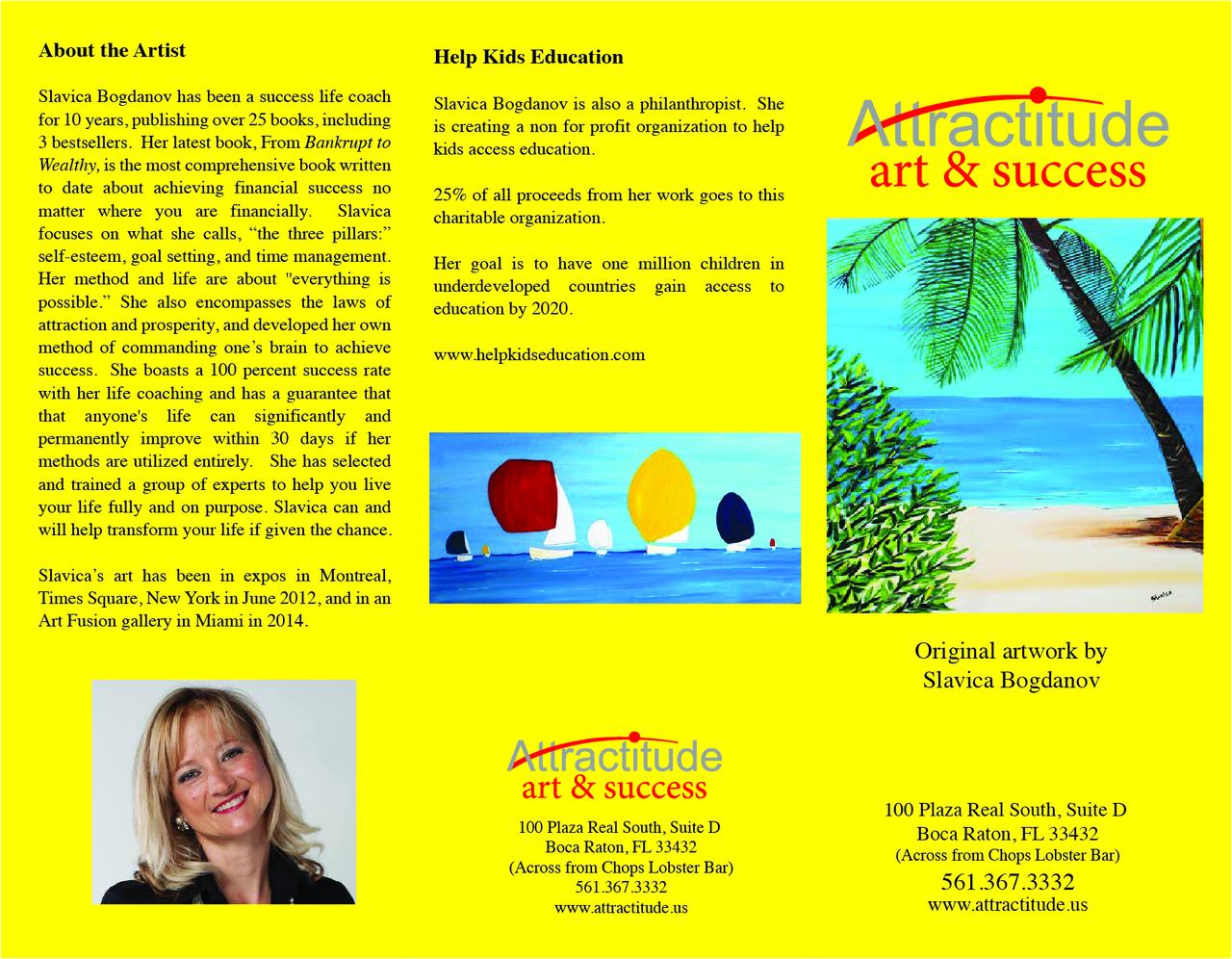 galerie de Slavica Bogdanov à Boca Raton FLORIDE