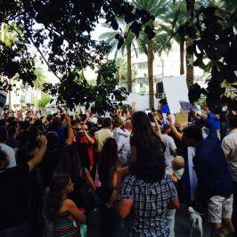 manifestation des français en Floride