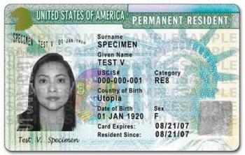 obtenir une green card aux USA