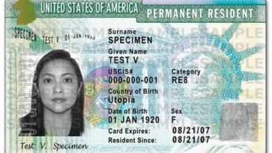 Photo of Obtenir une «Green Card» aux Etats-Unis