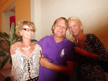 Laurent Godet Ariane Network Courrier de Floride au restaurant Casimir de Boca Raton