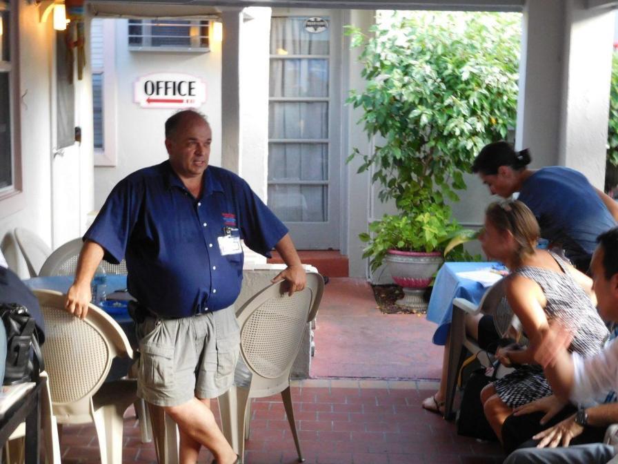 Richard Clavet, patron de Richard's Motel (et des hôtels !)