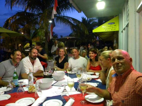 14 juillet 2015 au Sea Restaurant de Lauderdale-by-the-Sea
