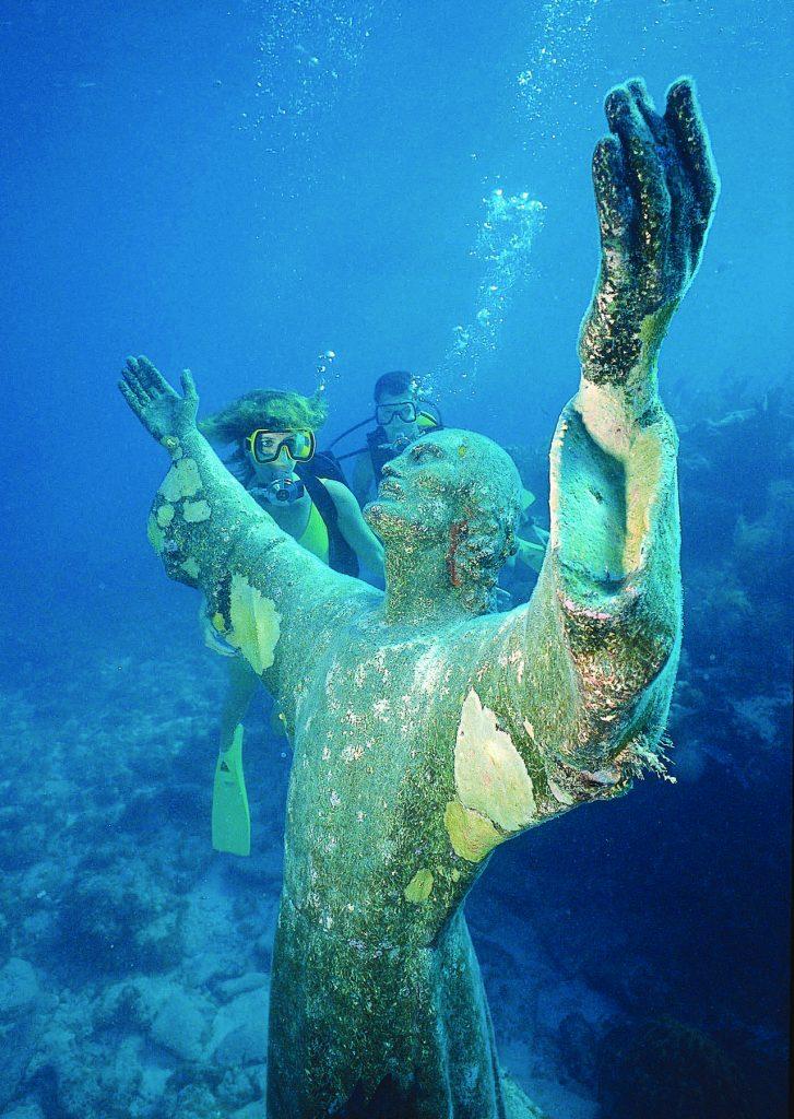 Christ des profondeurs à Key Largo Floride