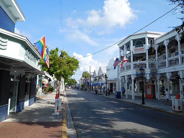 Duval Street à Key West - Floride