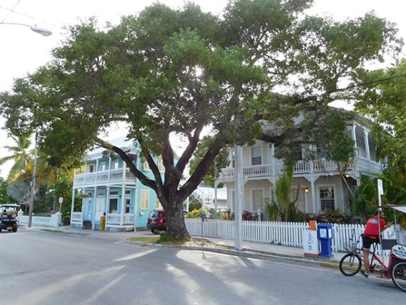 Vieilles maisons à Key West - Floride