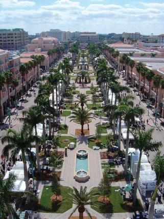 Mizner-Park à Boca Raton Floride