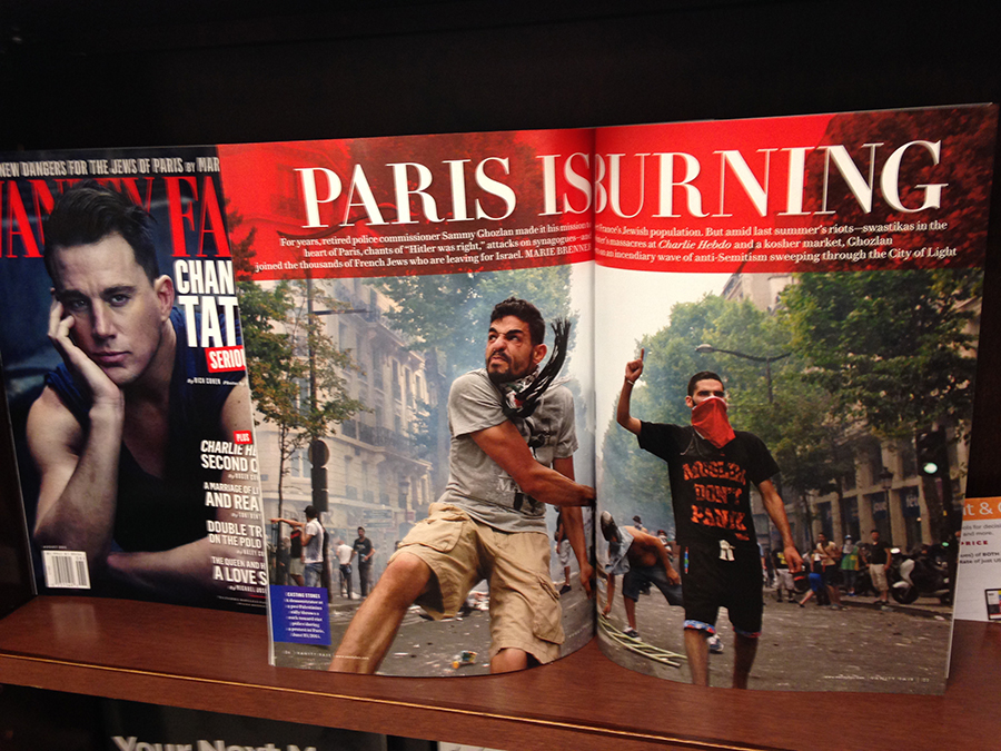 """Paris is Burning"", le dossier de Vanity Fair (édition US) d'août 2015"