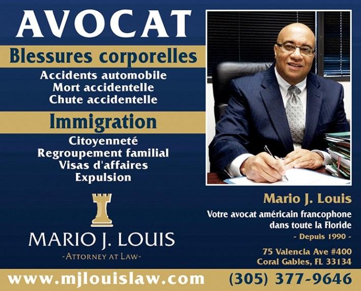 Mario J Louis avocat en Floride