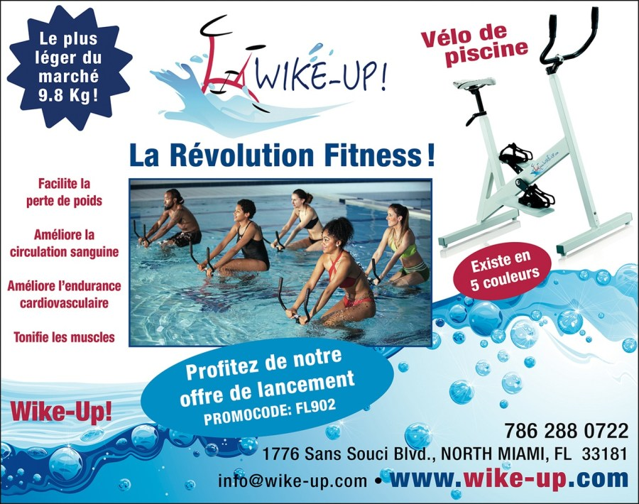 Wike-up vélos de piscine