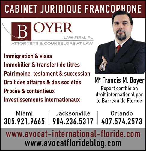 Francis boyer lawyer visas immigration Florida miami orlando