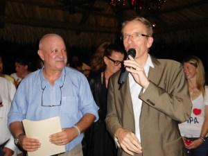 Le consul de France Philippe Létrilliart lors de la soirée FIPA