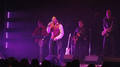Photo of Avec les chanteurs canadiens de Floride : Pierre Perpall, Richard Abel…