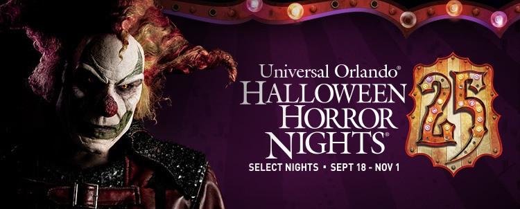 Halloween universal studios