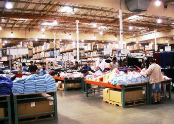 Un magasin Costco aux Etats-Unis