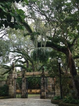 Jardins de la Villa Vizcaïa - Miami - Floride