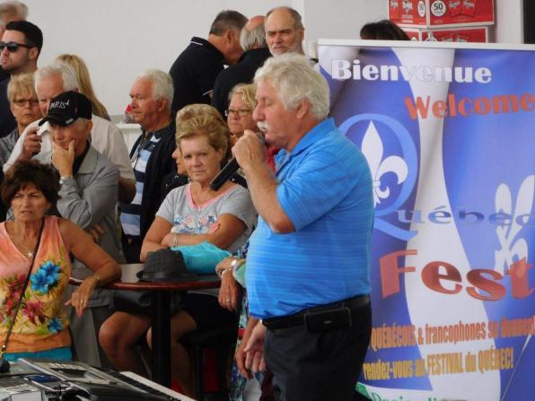 Chansons toute la journée à la QuébecFest 2016