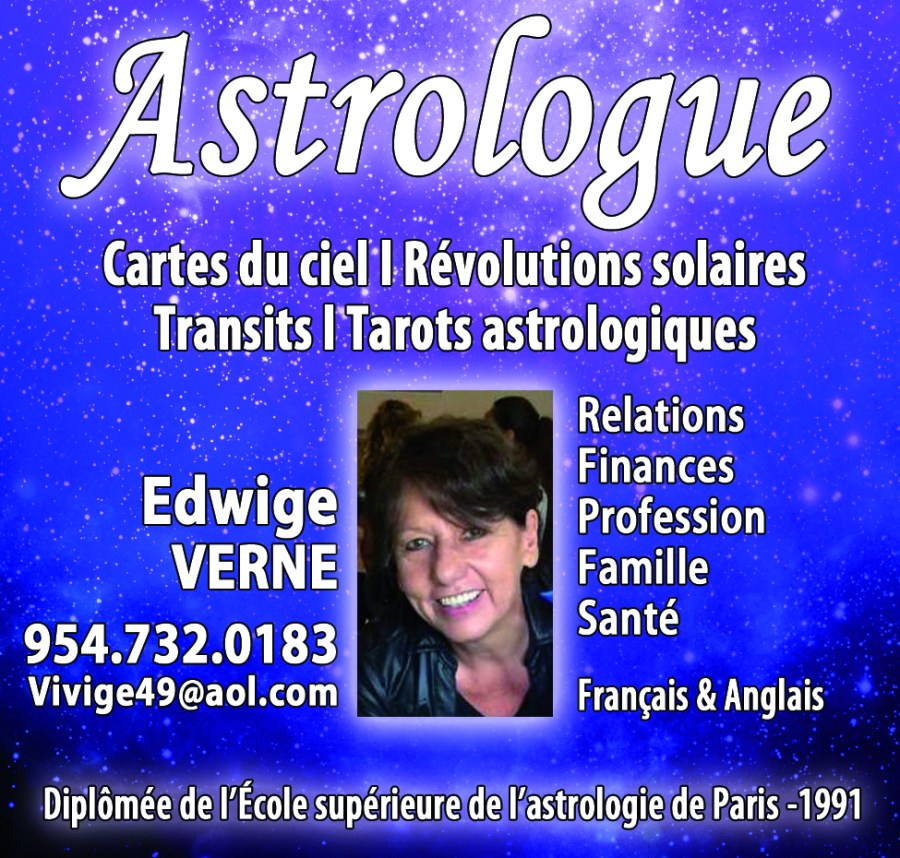 Edwige Verne - Astrologue en Floride