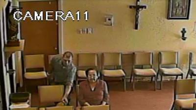 Vol de sac dans une église de Floride