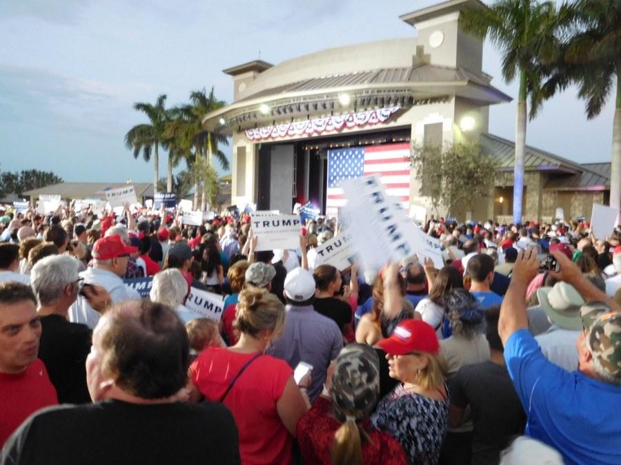 Meeting de Donald Trump à Boca Raton (Floride) le 13 mars