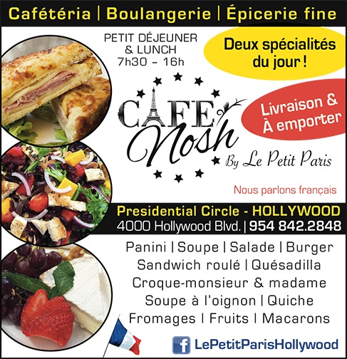 Café Nosh -Le Petit Paris - Restaurant à Hollywood