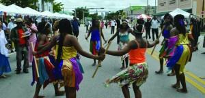 Jour du drapeau Haïti à MIami