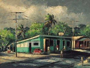 Peinture d'Harold Newton