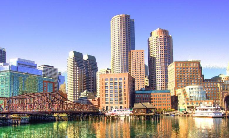 Port et Skyline de Boston (crédit photo : Falk Lademann (CC BY 2.0))