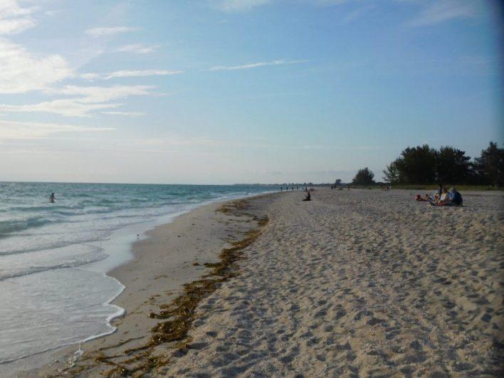 Plage de Casey Key / Nokomis / Floride