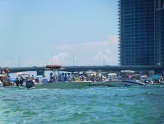 Fêtes sur les bateaux / Haulover Sand Bar / Miami
