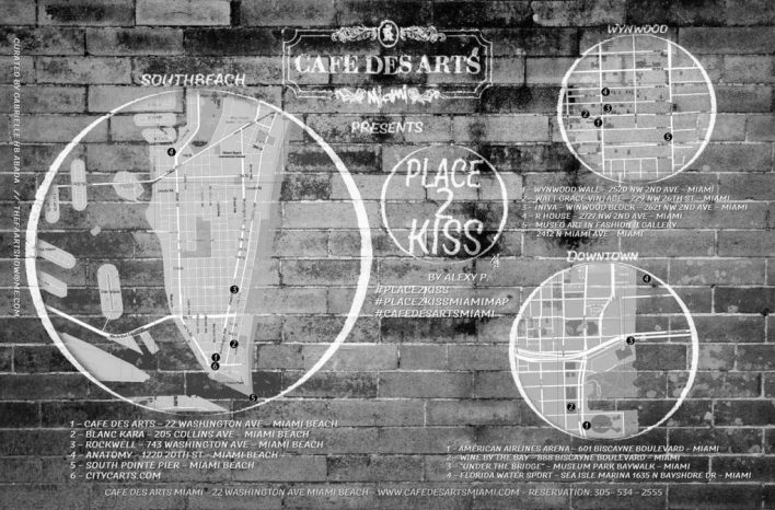 place to kiss Miami par alexy P.