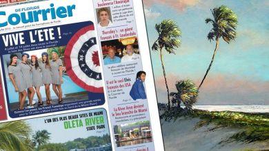 Photo of Le Courrier de Floride de Juillet 2016 est sorti !