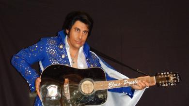 Photo of David Morin, le seul Elvis Français des Etats-Unis