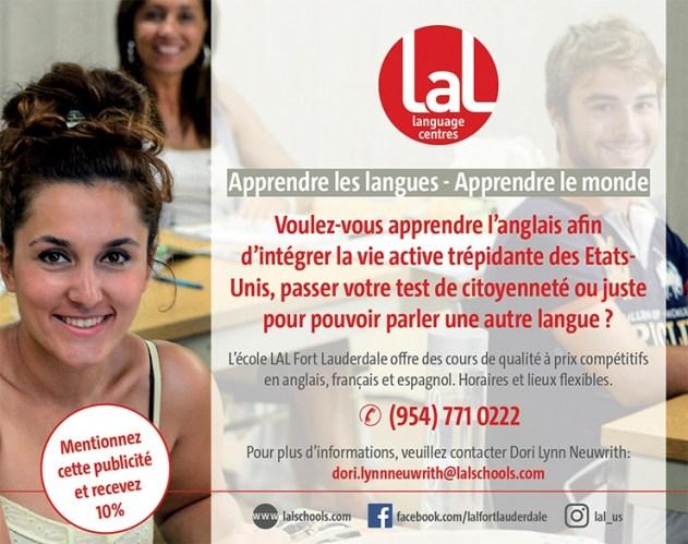 LAL Ecole de Langues / Fort Lauderdale