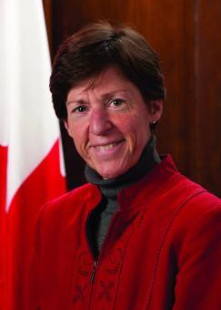 Louise Léger, consule du Canada par intérim à Miami.