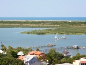 Vue depuis le Phare de St Augustine sur Anastasia Island