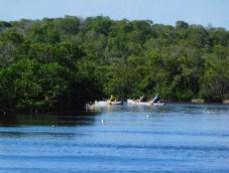 Kayak au John Pennekamp Coral Reef State Park / Key Largo / Floride