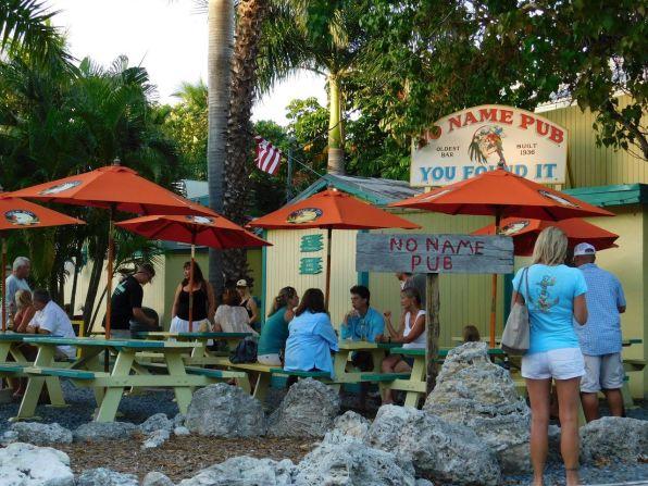 No Name Pub sur No Name Key / Big Pine Key / Keys de Floride