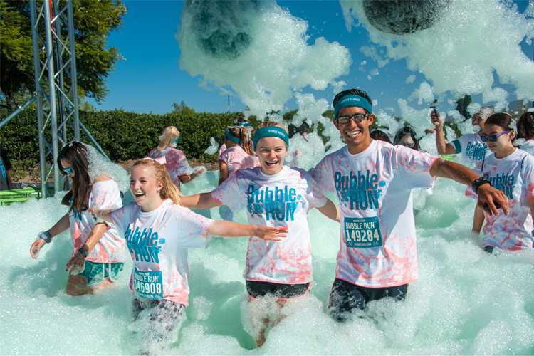 Bubble Run Miami