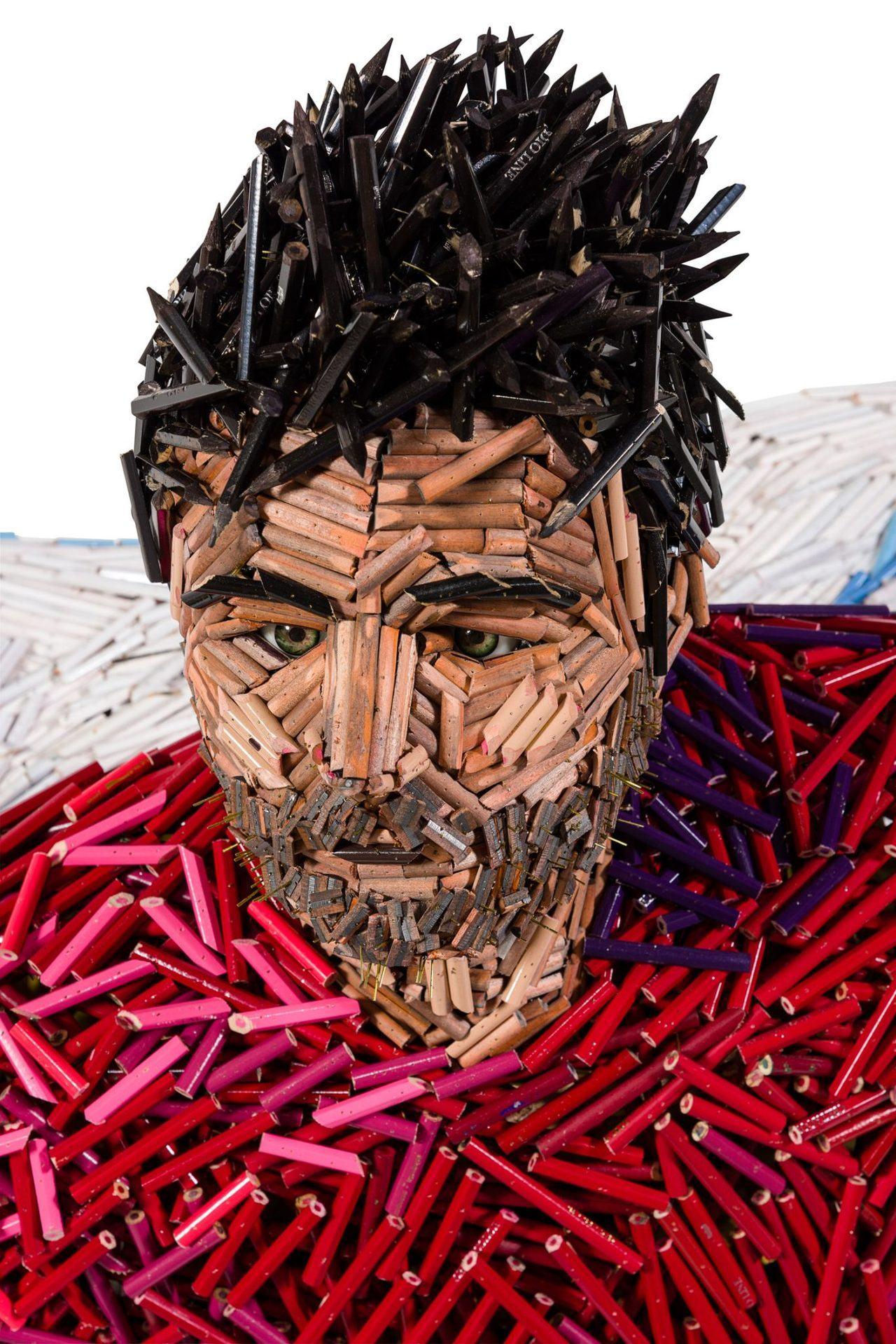 Sculpture de Federico Uribe, artiste de Miami.