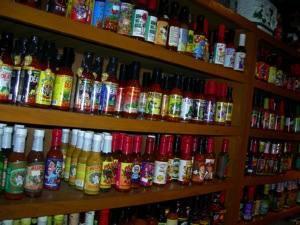 Des centaines de sauces épicées différentes !