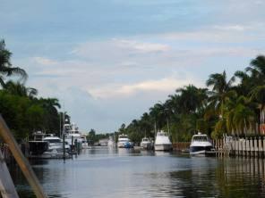 L'un des nombreux canaux de Fort Lauderdale
