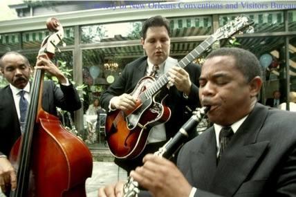 Musiciens à la Nouvelle-Orléans