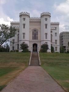 Le vieux capitole de Louisiane à Baton Rouge